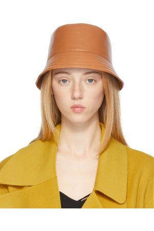 Loewe Tan Calfskin Bucket Hat