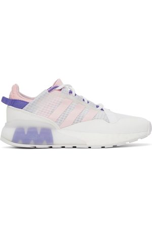 adidas Dames Sneakers - White & Pink ZX 2K Pure Sneakers
