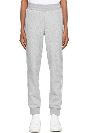 adidas Heren Broeken - Grey Comfort 3-Stripes Lounge Pants
