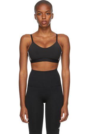 adidas Dames Sport bh's - Black All Me 3-Stripes Bra