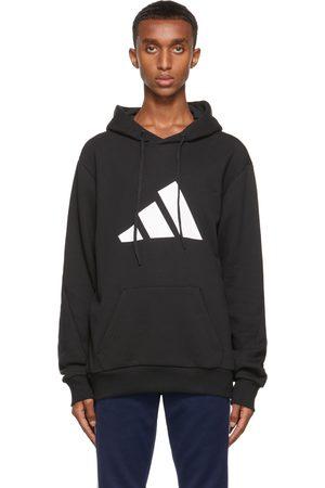 adidas Black Future Icons Logo Graphic Hoodie