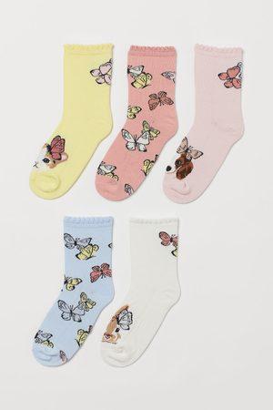 H & M 5 paar sokken