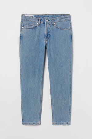 H&M Heren Tapered - Regular Tapered Cropped Jeans