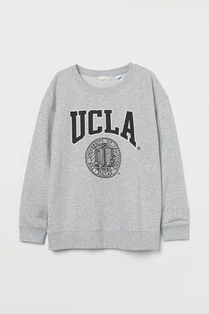 H&M Dames Sweaters - MAMA Sweater met print