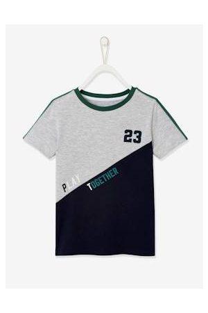 Vertbaudet Oeko-Tex® sport-T-shirt met kleurvlakken voor jongens