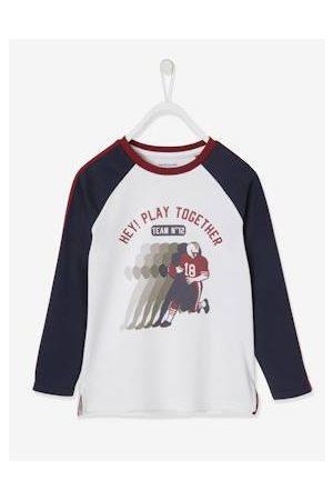 Vertbaudet Jongens Shirts - Oeko-Tex® grafisch jongens sport T-shirt american football met raglanmouwen