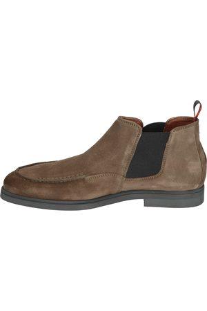 Greve Heren Enkellaarzen - 1737 16 3076 Piombo Chelsea boots