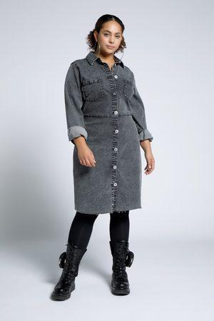 STUDIO UNTOLD Dames Jeans jurken - Grote Maten Jeansjurk, Dames
