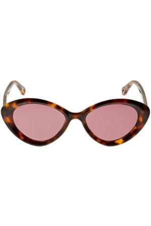 Chloé Dames Zonnebrillen - Osco Cat-eye Acetate Sunglasses
