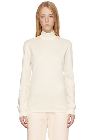 LEMAIRE Off-White High Collar Turtleneck