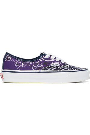 Vans Dames Sneakers - Navy Bedwin Edition Bandana OG Authentic LX Sneakers