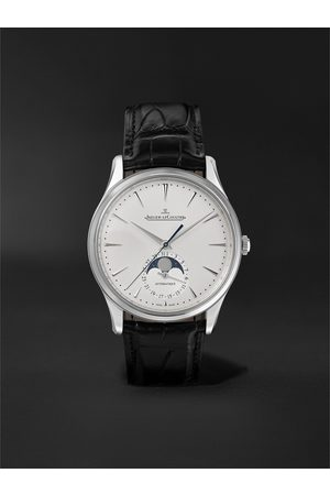 Jaeger-LeCoultre Master Ultra Thin Automatic Moon-Phase 39mm Stainless Steel and Alligator Watch, Ref. No. 1368430