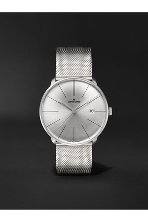 Junghans Meister Fein Automatic 39.5mm Stainless Steel Watch, Ref. No. 27/4153.44