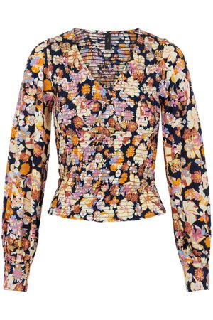 Y.A.S Dames Blouses - Yasnarnio Gesmokte Blouse Dames
