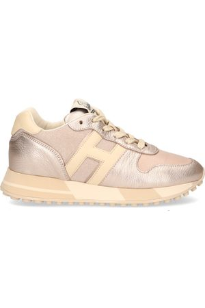 Hogan Dames Schoenen - H383 Roze/Beige