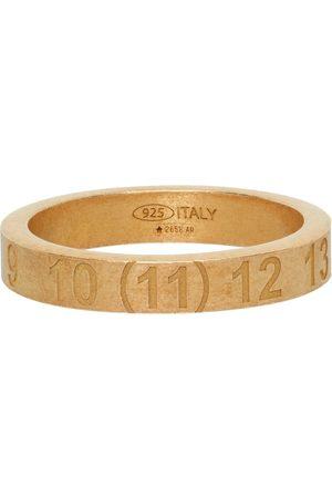Maison Margiela Heren Ringen - Gold Numbers Ring