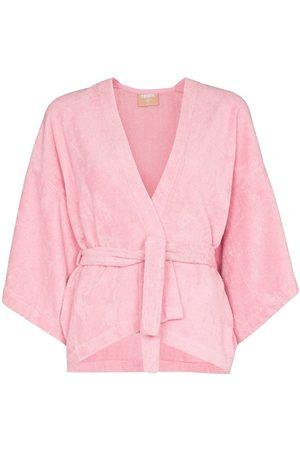 TERRY Dames Kimono's - Il Pareo Kimono wrapped top