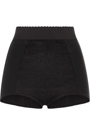 Dolce & Gabbana Dames Shorts - Scalloped-waistband shorts