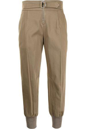 Chloé Dames Joggingbroeken - Pressed-crease track pants