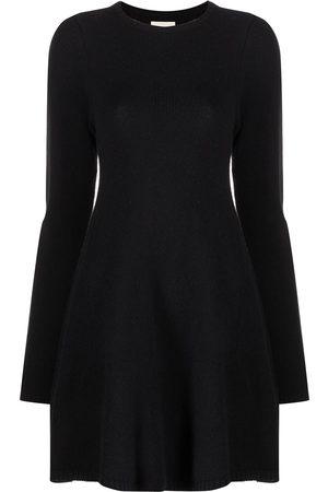 Khaite The Fleurine cashmere minidress