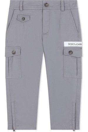 Dolce & Gabbana Jongens Cargo's - Straight leg cargo trousers