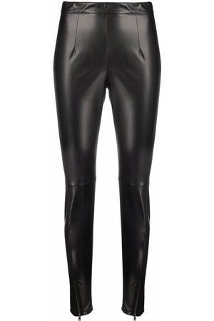 Patrizia Pepe Dames Leggings - Leather-effect leggings