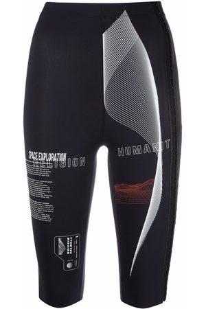 TTSWTRS Dames Bermuda's - Graphic-print cycling shorts