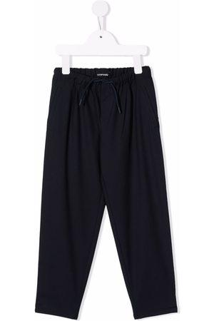 Emporio Armani Jongens Broeken - Drawstring straight leg trousers