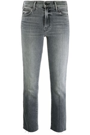 Mother Dames Slim - Mid-rise slim cropped jeans