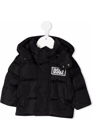 Dsquared2 Hooded padded jacket