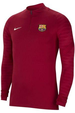 Nike Jongens Sweaters - Fc barcelona drill top 2021-2022 kids noble red