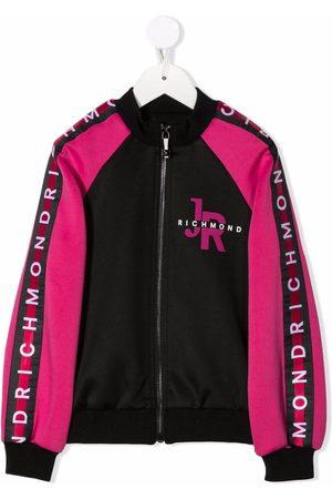 John Richmond Junior Meisjes Bomberjacks - Colour-block bomber jacket