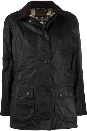 Barbour Dames Donsjassen - Single-breasted wax jacket