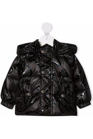 John Richmond Junior Donsjassen - Padded hooded jacket