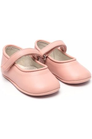 ANDREA MONTELPARE Instappers - Touch-strap ballerina shoes