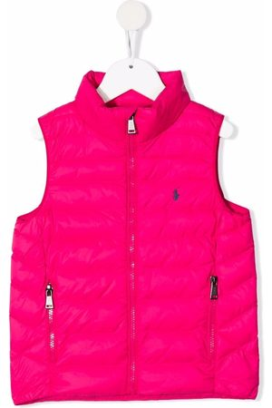 Ralph Lauren Meisjes Bodywarmers - Embroidered-logo padded gilet
