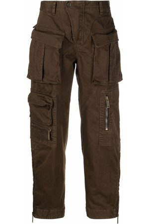 Dsquared2 Dames Cargo's - Straight-leg cargo trousers