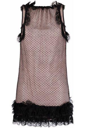 Dsquared2 Lace-detail mini dress