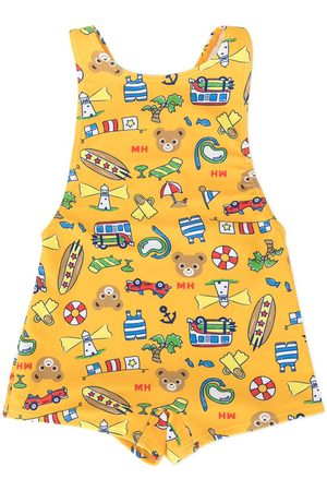 Miki House Printed swimsuit