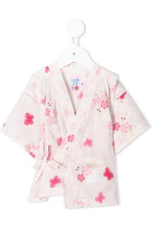 Miki House Meisjes Trainingspakken - Printed kimono set
