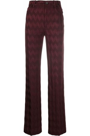 Missoni Zigzag straight-leg trousers