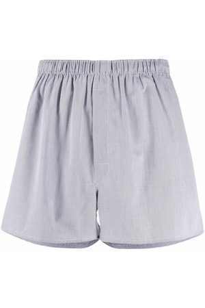Sunspel Checked cotton boxers