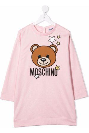 Moschino Kids Graphic-print jersey dress