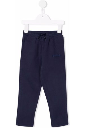 Kenzo Straight - Logo straight-leg trousers
