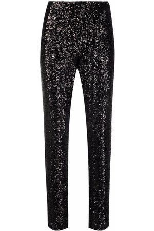Les Hommes Stretch-fit sequin embellished trousers