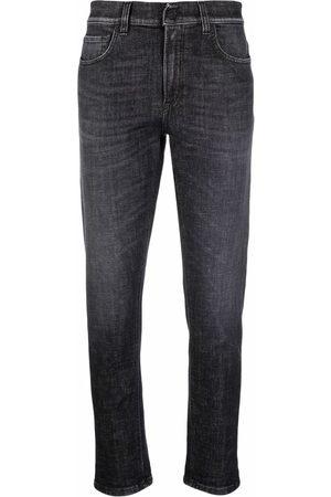 Dondup Stonewashed cropped jeans