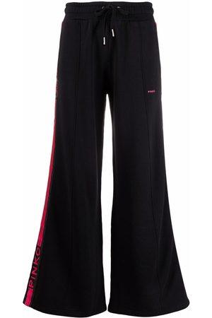 Pinko Flared-leg sweat pants