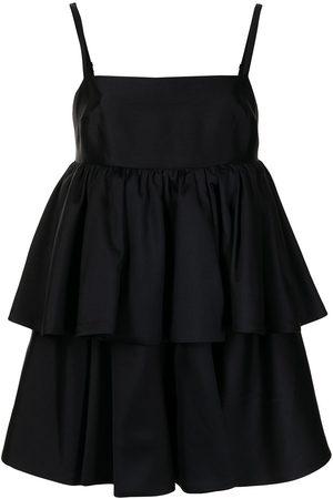 Macgraw Conversation tiered mini dress