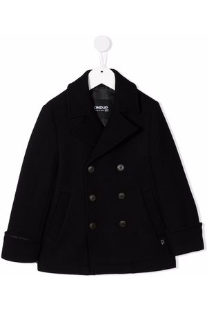 Dondup Double-breasted knitted coat