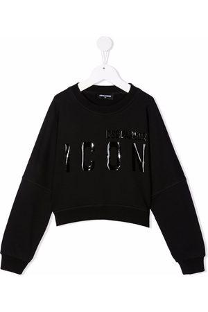 Dsquared2 Jongens Sweaters - Icon-print cotton sweatshirt